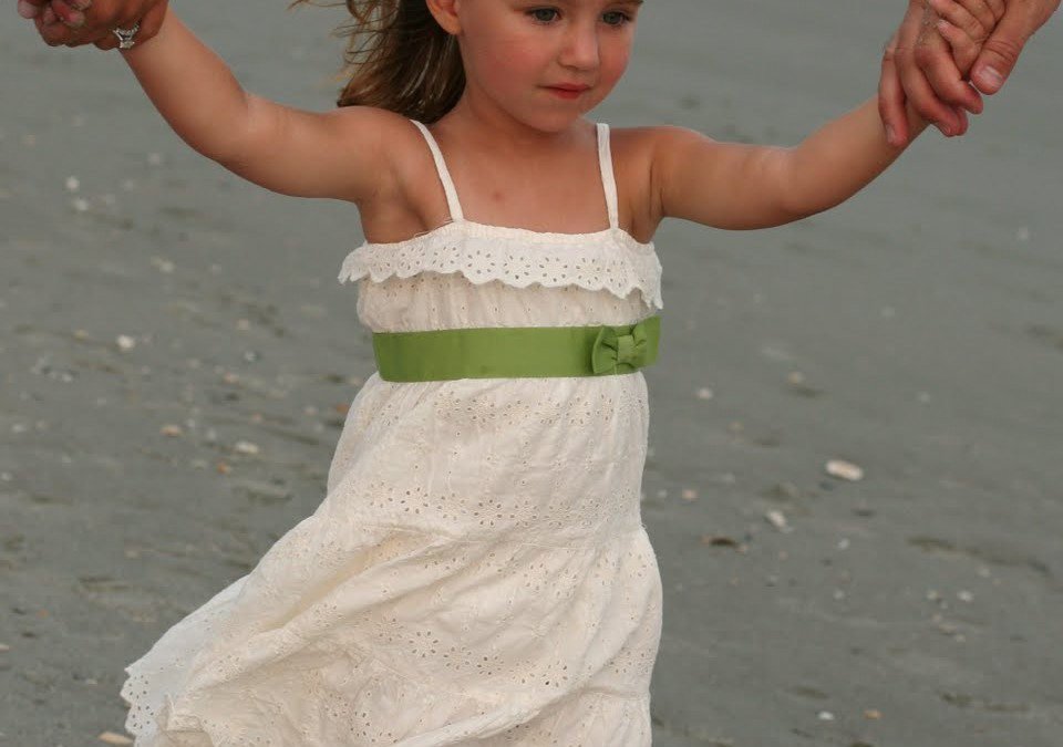 Adorable Emily Enjoying Family Beach Time!