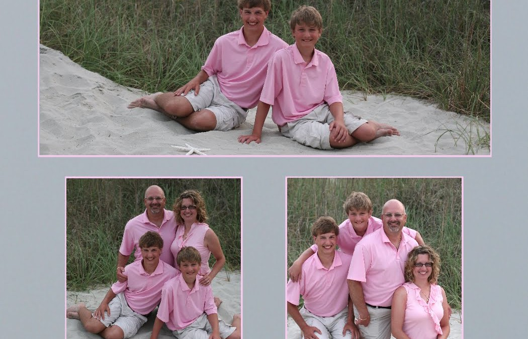 Pretty in Pink ~ Family Loves Vacationing in North Myrtle Beach!