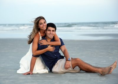 Engagementbeachpicture